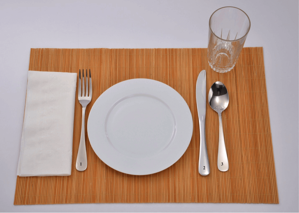 Basic table setting & Flatware Buying Guide: Table Setting - Liberty Tabletop