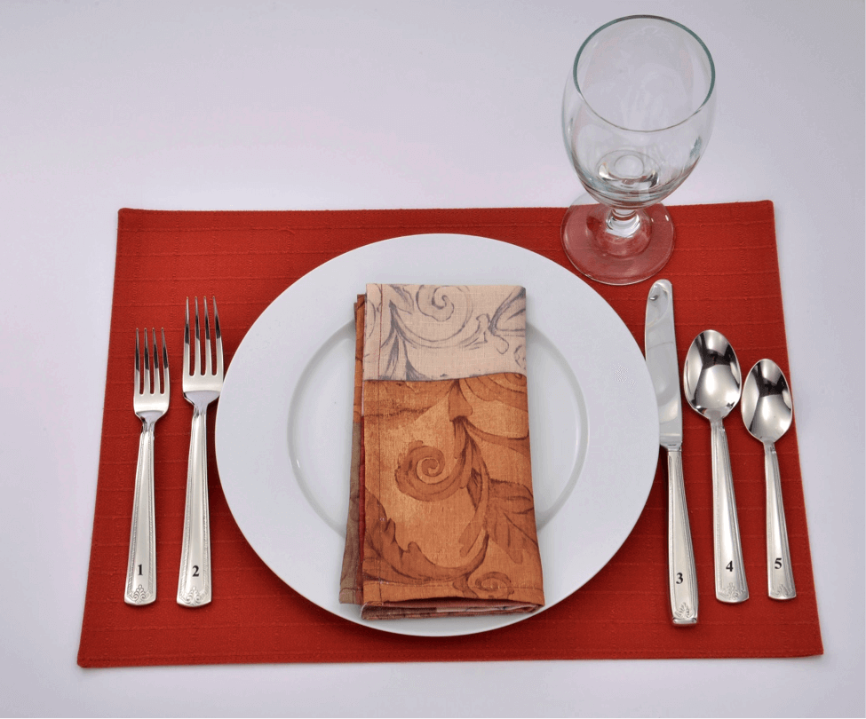 Semi Formal Standard Place Setting