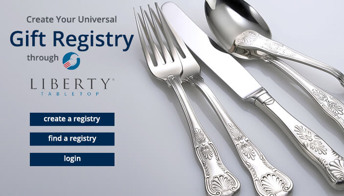 Liberty Tabletop Gift Registry