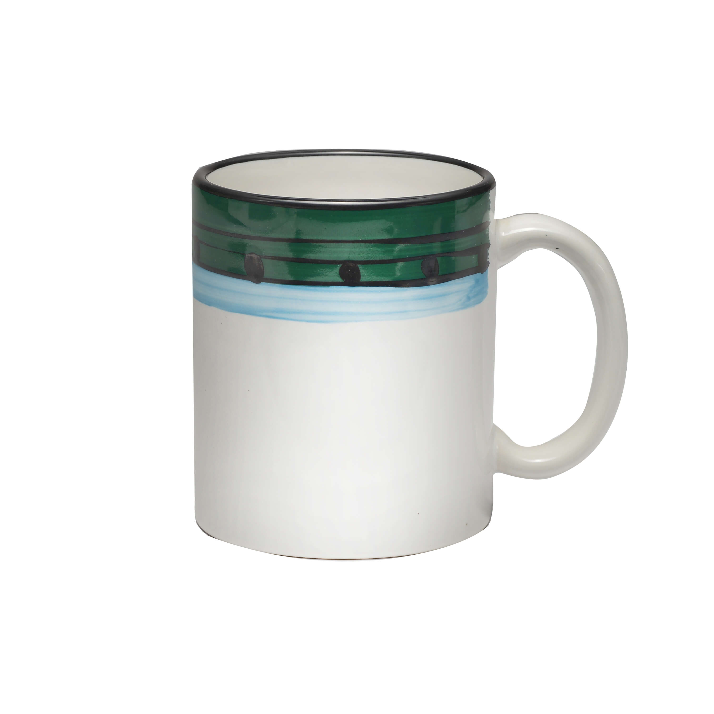 11oz Mug Carousel Blue