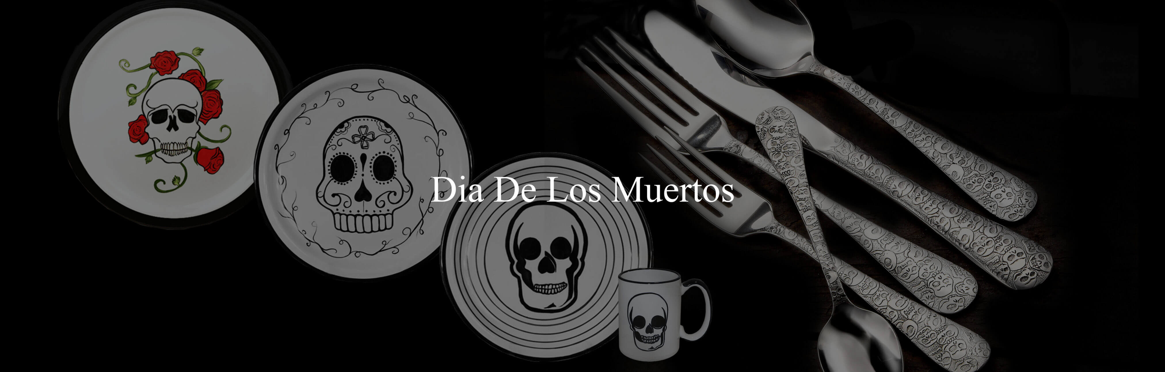 Dia de los Muertos Dinnerware Collection