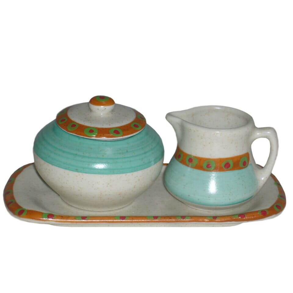 sc 1 st  Liberty Tabletop & Sugar Creamer Set on Tray American Southwest - Liberty Tabletop